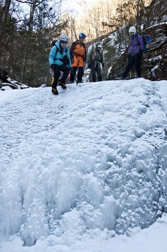 Platte Clove Ice Climbing