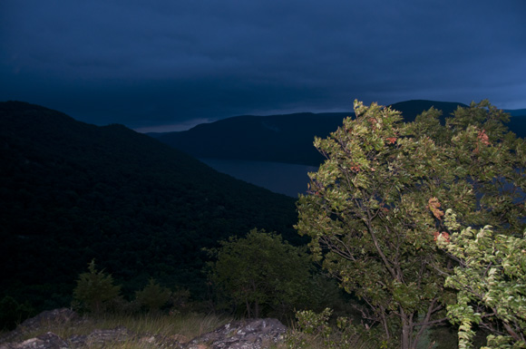 Breakneck Ridge, Hudson River and Storm King Mountain